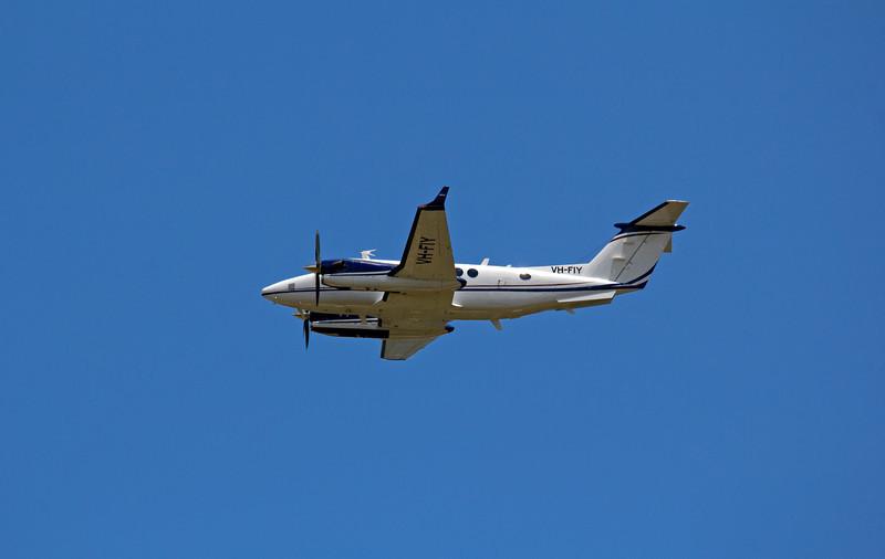 VH-FIY AIRSERVICES AUSTRALIA KING AIR