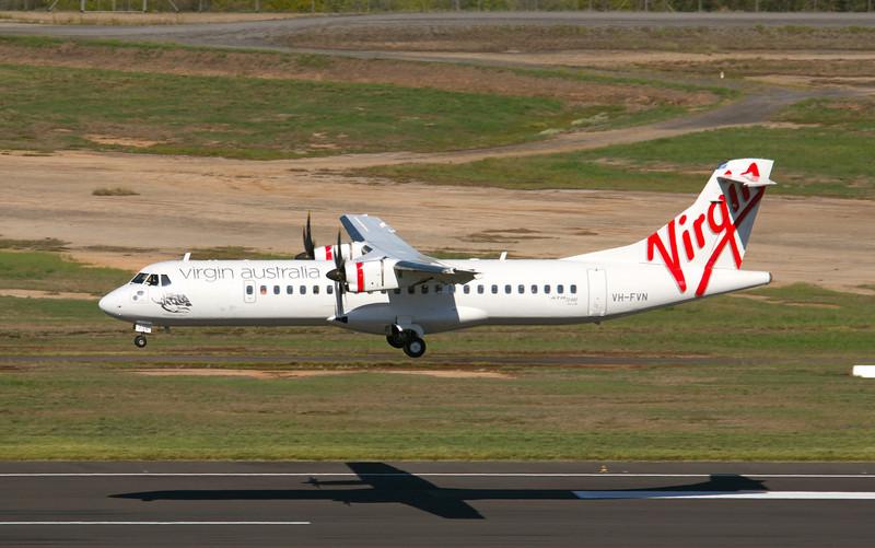 VH-FVN VIRGIN ATR-72-600