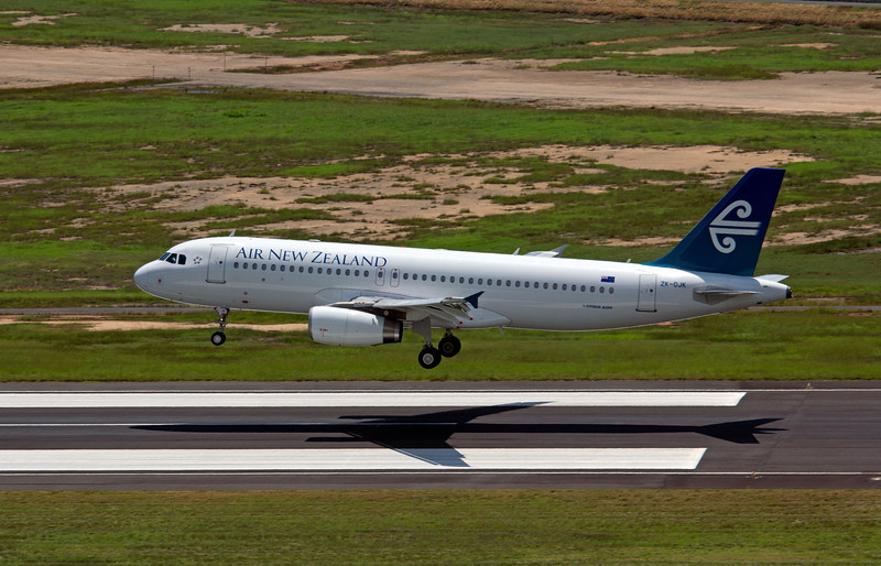 ZK-OJK AIR NEW ZEALAND A320