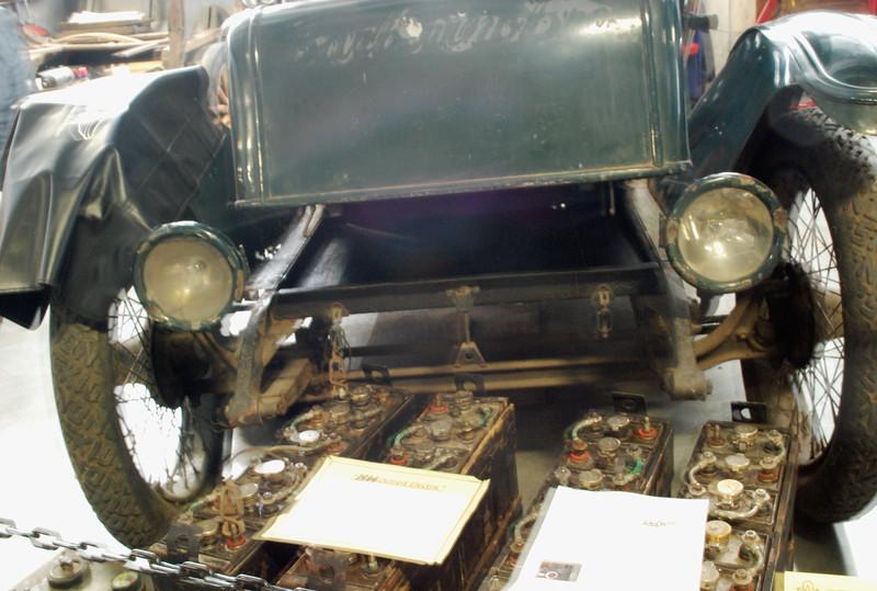 Detroit Electric 1914 Model 63 battery pack