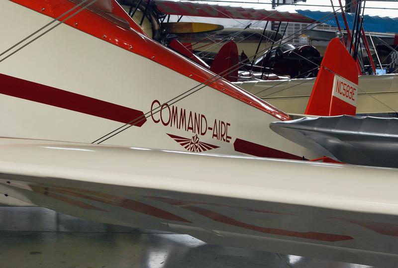 Command-Aire 1929 3C3-T ft lf detail