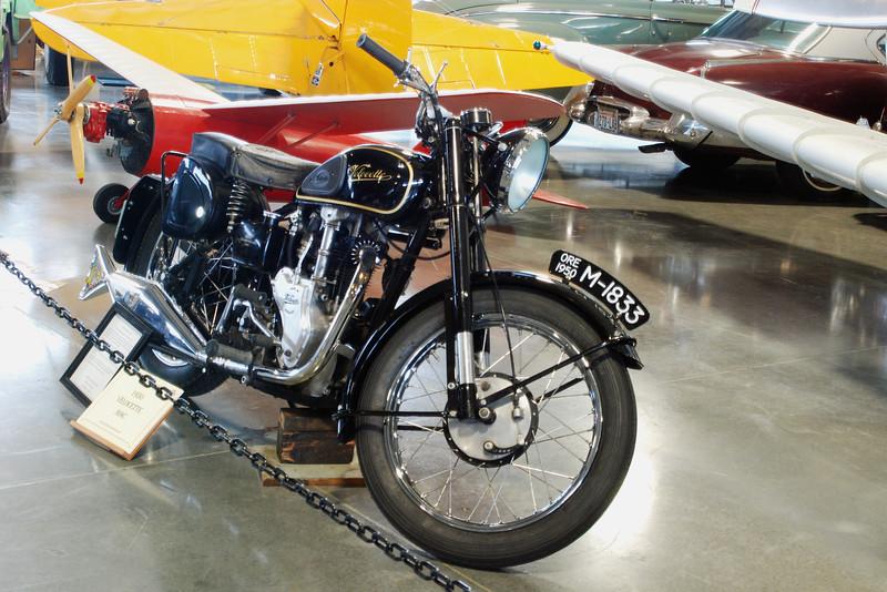 Velocette 1950 MAC ft rt
