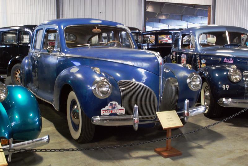 Lincoln 1941 Zephyr ft rt