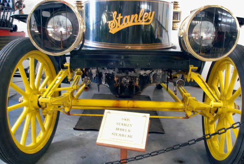 Stanley 1908 Model K front axle