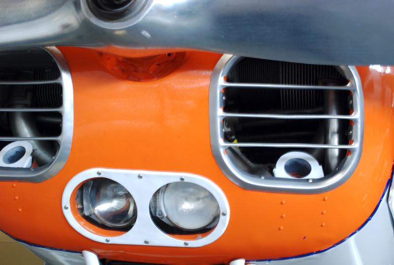 Luscombe 1948 11A sedan front detail