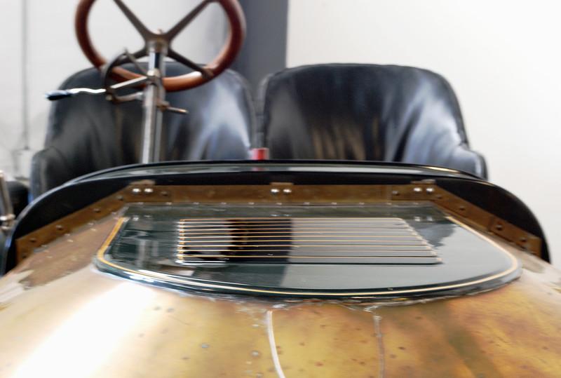 Stanley 1908 Model K ft hood top