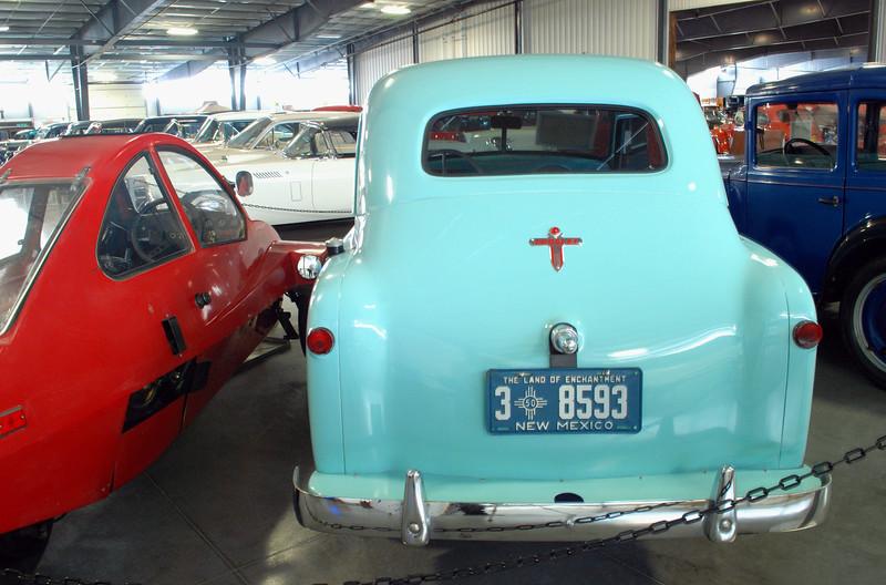 Crosley 1950 Model CD sedan rear