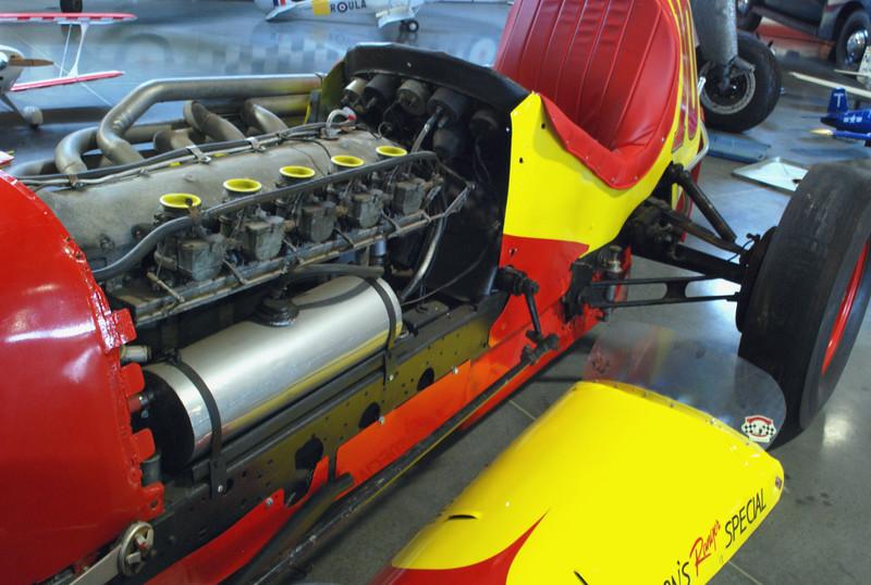 Sprint Car 1940s Nelson Ranger Special engine ft lf hi