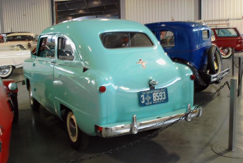 Crosley 1950 Model CD sedan rr lf