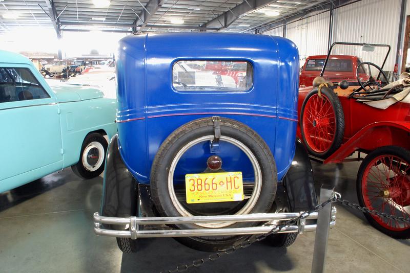 American Austin Bantam 1930 coupe rear
