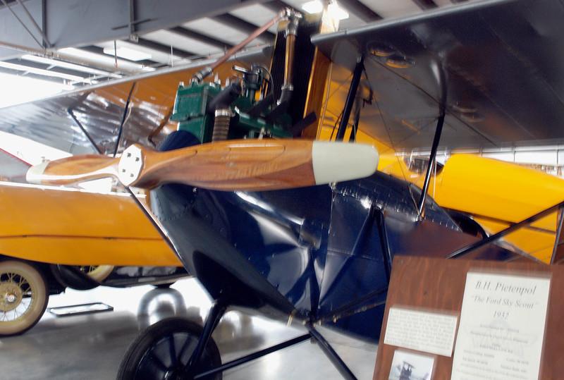 Pietenpol 1932 Sky Scout ft lf