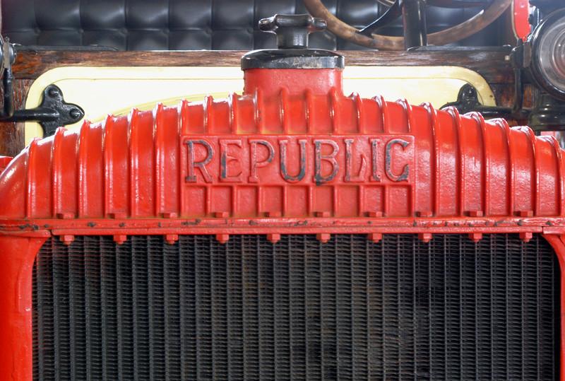 Republic 1919 Model 19 radiator