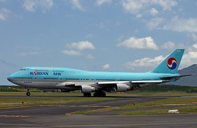 HL7493 KOREAN AIR B747-400