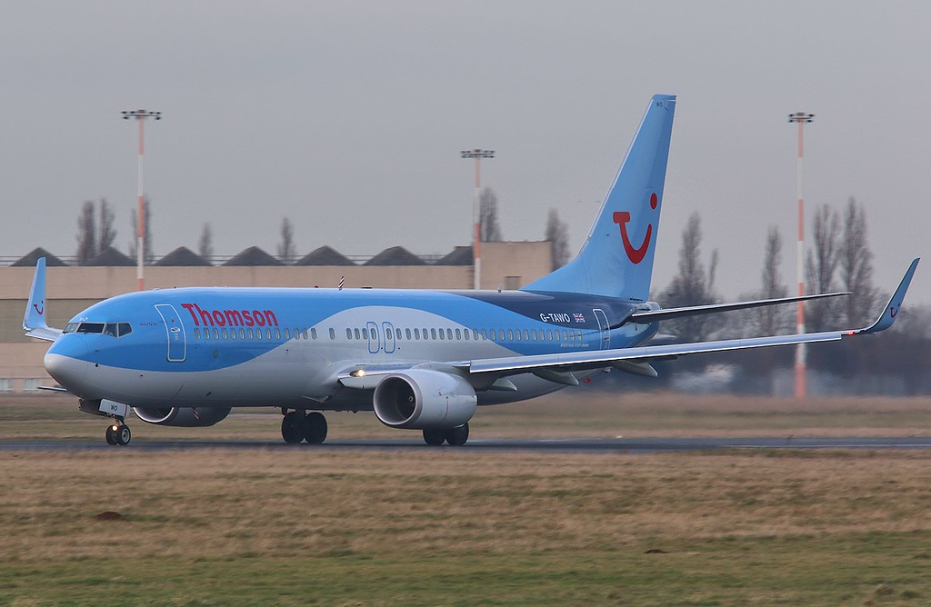 Thomson Airways 737-800, G-TAWO<br /> By Correne Calow.