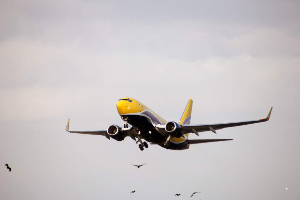 Europe Airpost Boeing 737-700 F-GZTF.<br /> By Graham Vlacho.