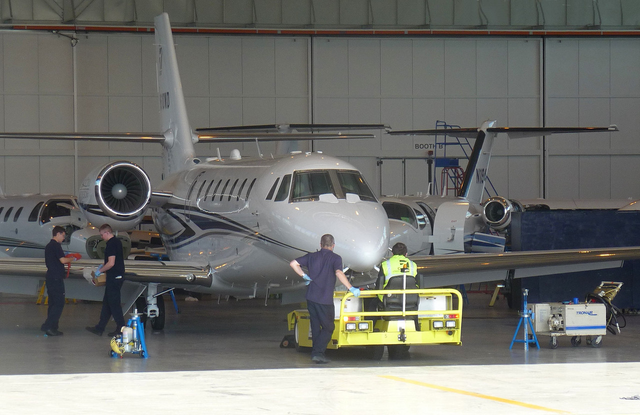 Cessna 680 Citation Sovereign, N510WD (c/n 680-0510)<br /> By Correne Calow.