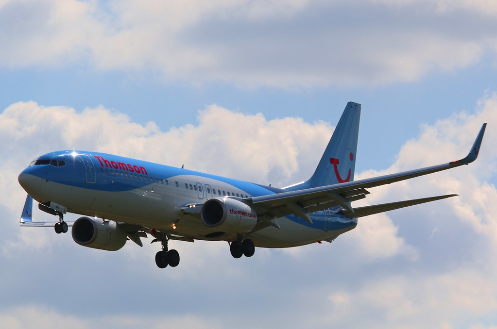 Thomson Airways 737-800, G-TAWL<br /> By Correne Calow.