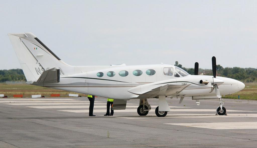 Cessna 425 Corsair, N90YA<br /> By Correne Calow.