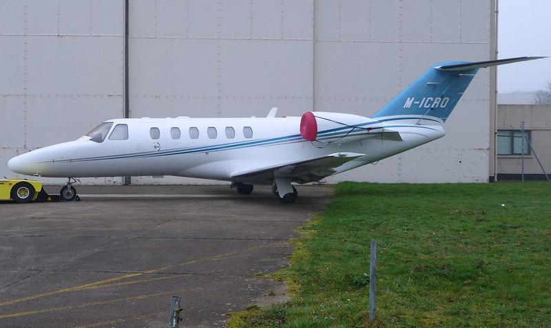 Cessna 525 CitationJet CJ2, M-ICRO <br /> By Correne Calow.