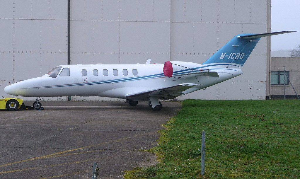 Cessna 525 CitationJet CJ2, M-ICRO <br /> By Correne Calow.