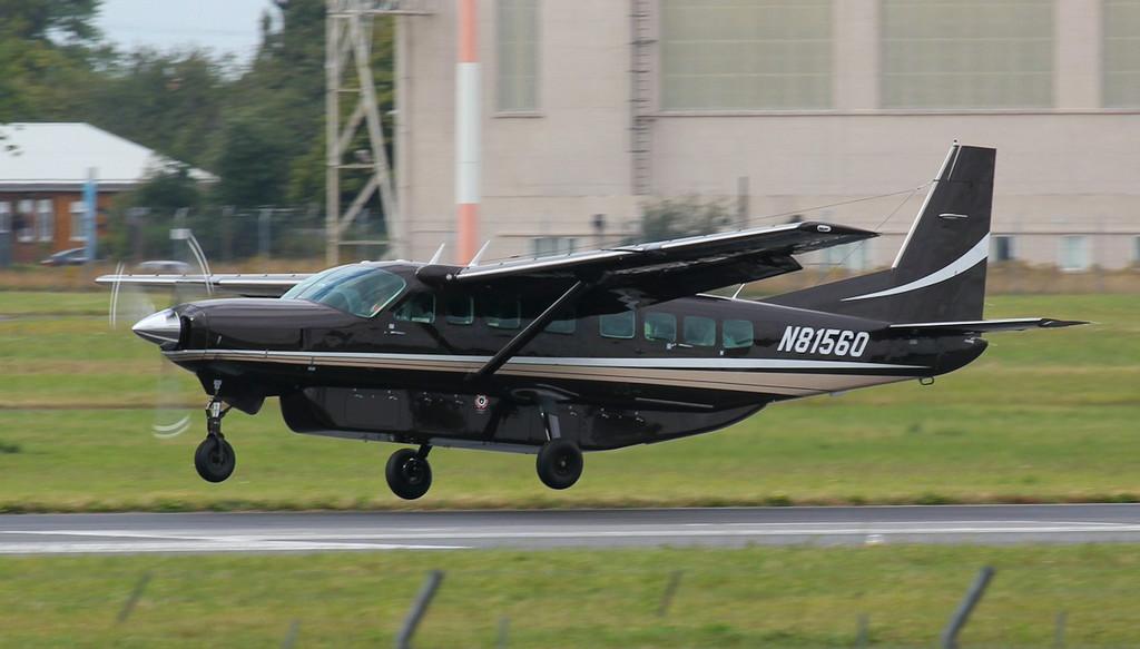 Cessna 208B Caravan, N81560.<br /> By Jim Calow.