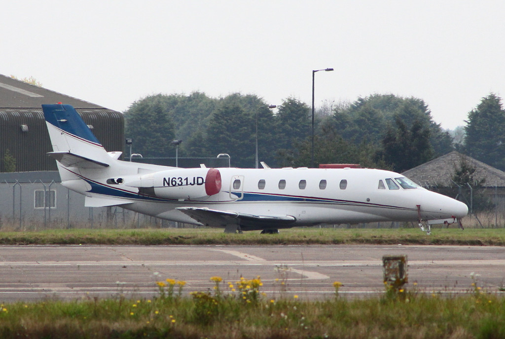 Cessna 560XL Citation XLS, N631JD (ex G-ECAI)<br /> By Clive Featherstone.