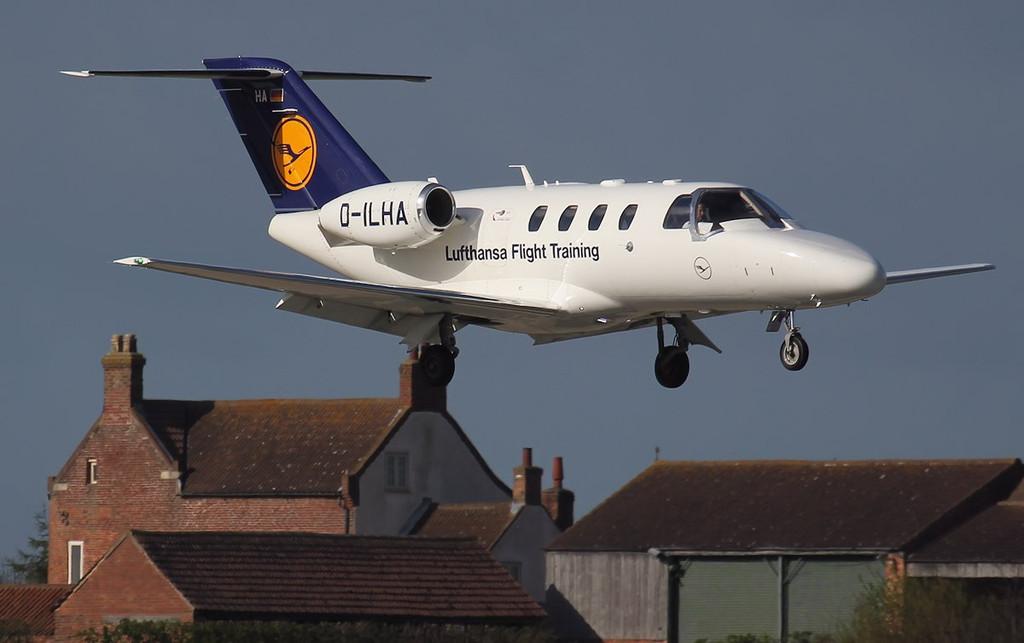 Lufthansa Flight Training, Cessna 525 Citation CJ1+, D-ILHA<br /> By Jim Calow.
