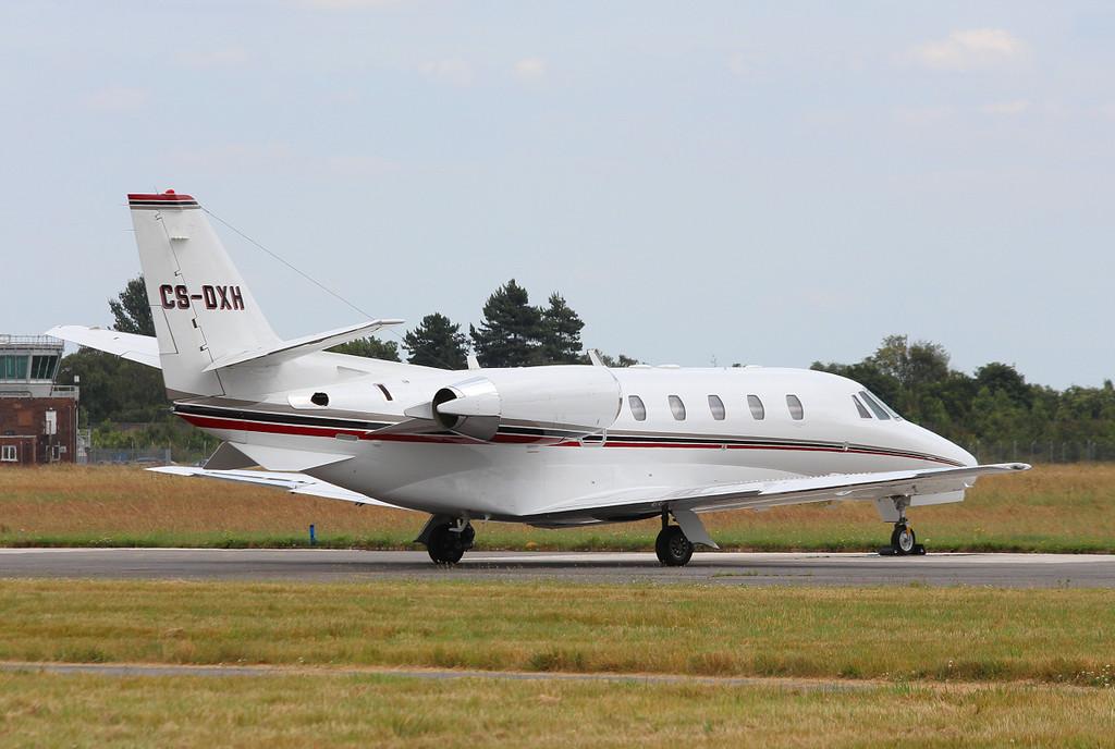 NetJets Europe Cessna 560XL Citation XLS, CS-DXH.<br /> By Clive Featherstone.