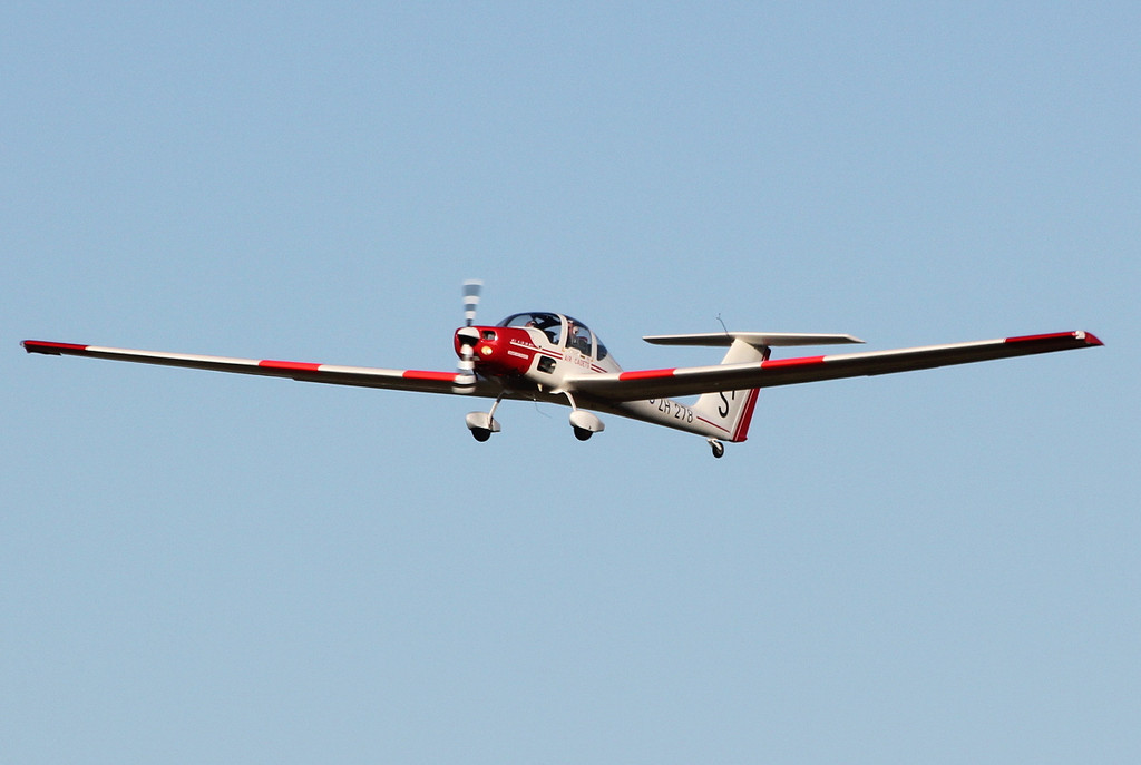 Grob G-109B Vigilant T1, ZH278 / SF.<br /> By Clive Featherstone.