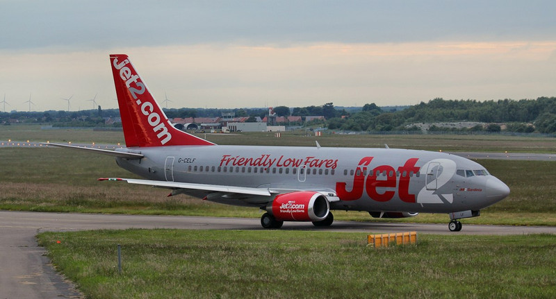 Jet2 737-300 G-CELF.<br /> By Jim Calow.