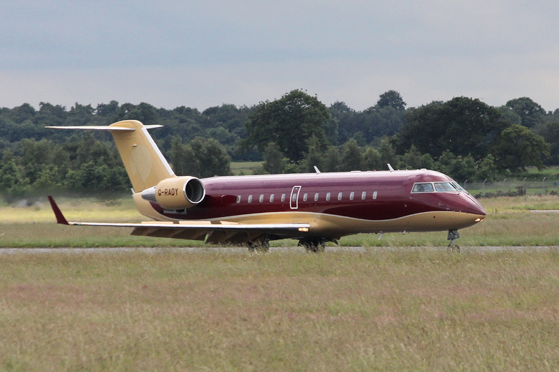 TAG Aviation CL-600-2B19 Challenger 850 G-RADY.<br /> By Clive Featherstone.