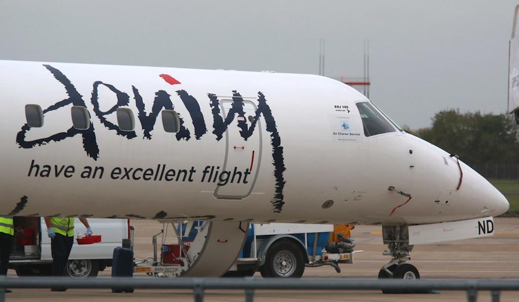 Denim Air, Embraer ERJ-145, PH-DND<br /> By Correne Calow.