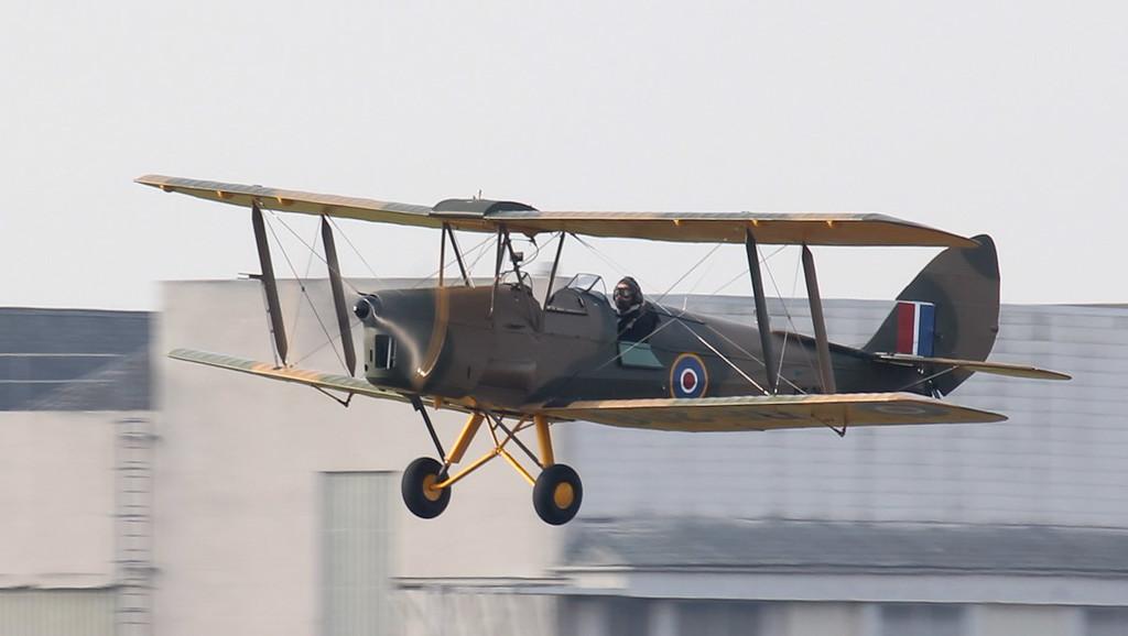 DH82A Tiger Moth, DE208 (G-AGYU),<br /> By Jim Calow.