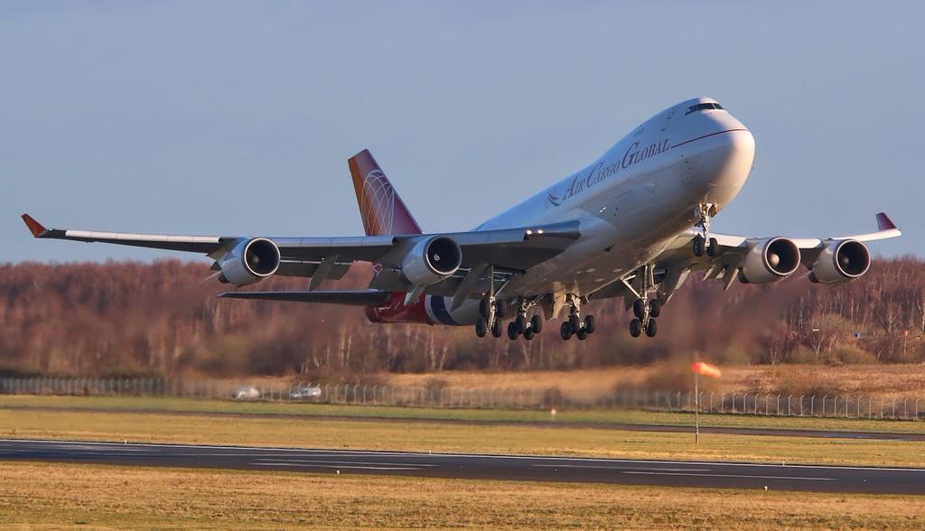 Air Cargo Global 747-400F OM-ACA.<br /> By Correne Calow.
