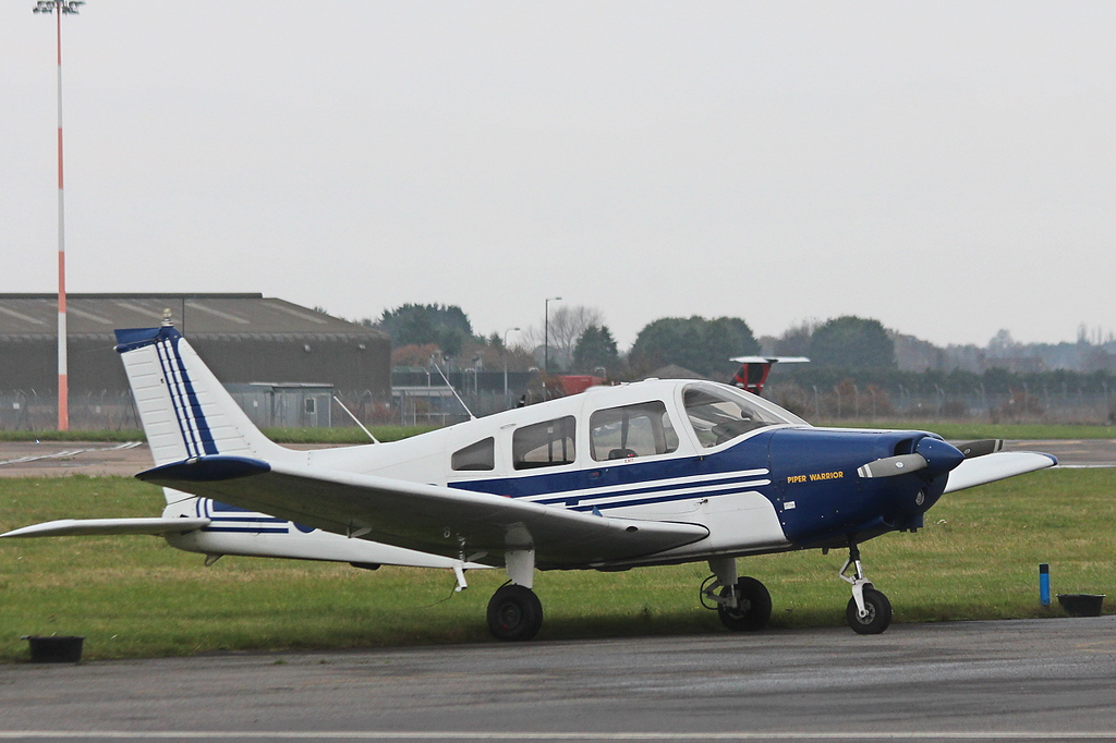 PA-28 Cherokee Warrior II, G-BNTD recently joined the Flying School<br /> By Clive Featherstone.