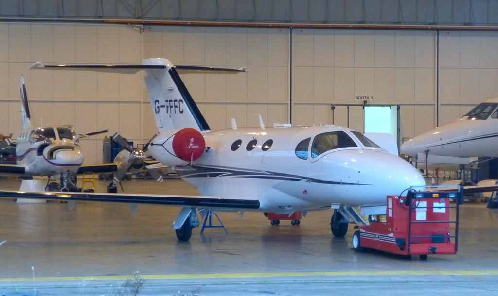 Flairjet Ltd, Cessna 510 Mustang, G-FFFC.<br /> By Correne Calow.