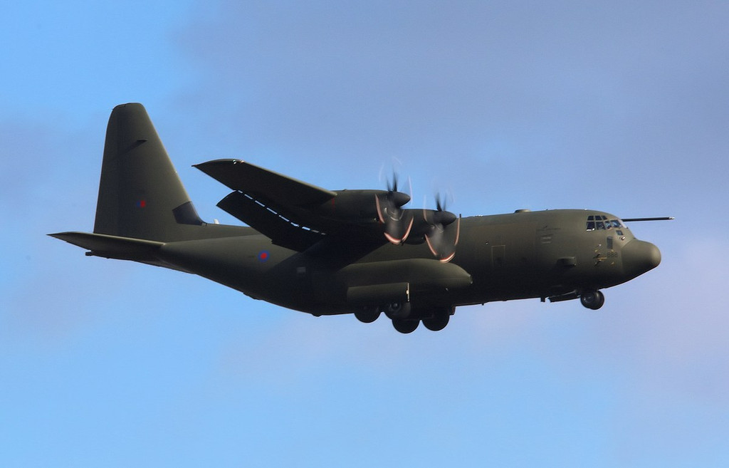 Hercules C.5 ZH888.<br /> By Correne Calow.