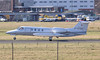 Quick Jet Air Charter GmbH, Learjet 36A D-CFGG arrived around 15:00.<br /> By Jim Calow.