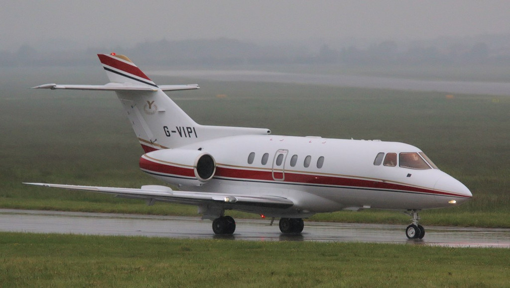 Executive Jet Charter, BAe 125-800 G-VIPI.<br /> By Correne Calow.