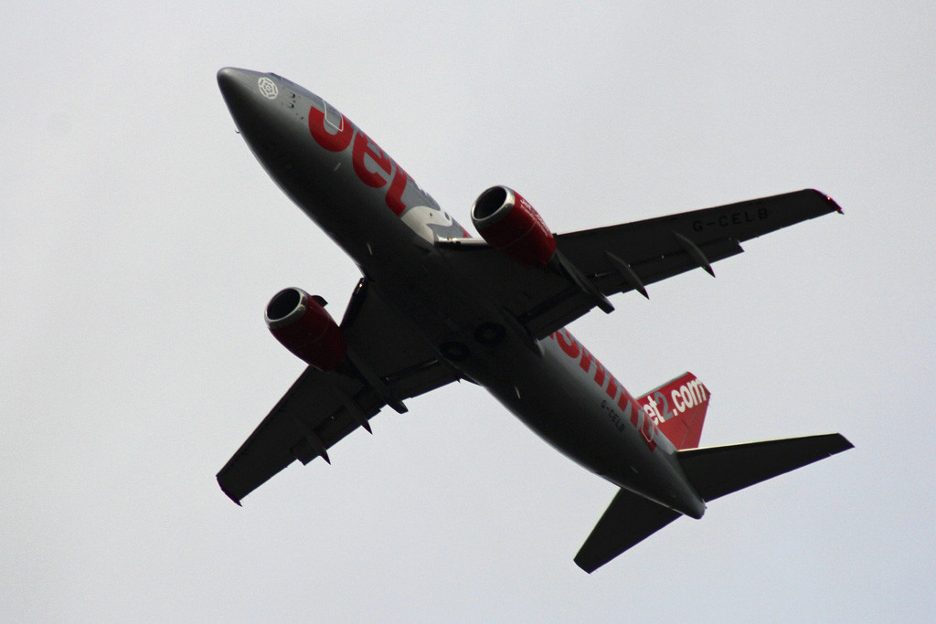 "Jet2 B733, G-CELB  ""Yorkshire""<br /> By Graham Vlacho."