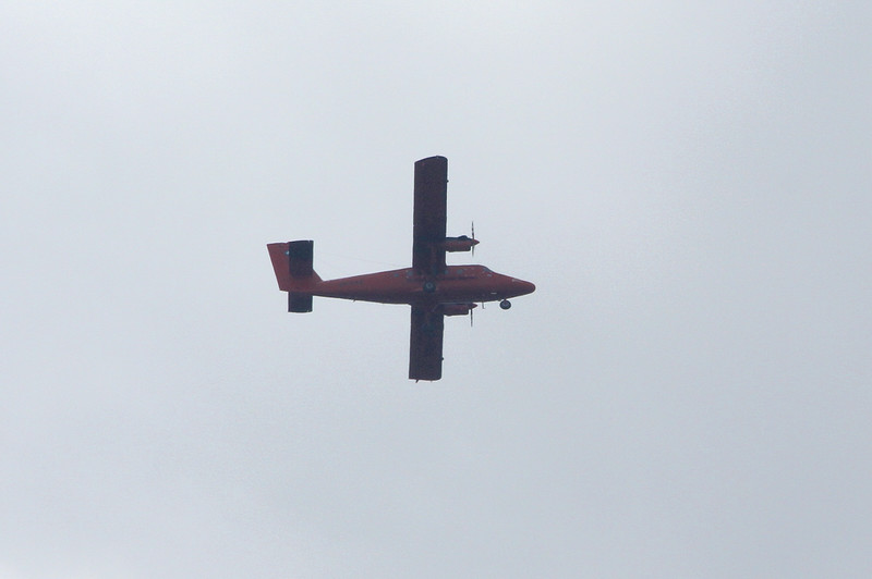 Antarctic Survey Twin Otter VP-FAZ<br /> By Clive Featherstone.