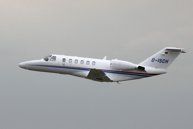 Cessna 525A CitationJet CJ2, D-ISCH<br /> By Clive Featherstone.