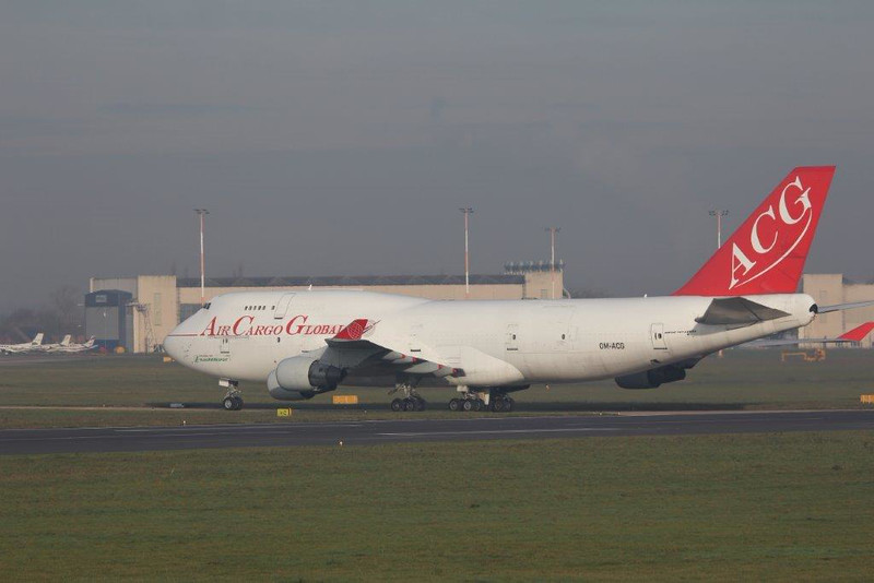 Air Cargo Global 747-400F OM-ACG.<br /> By Steve Roper.