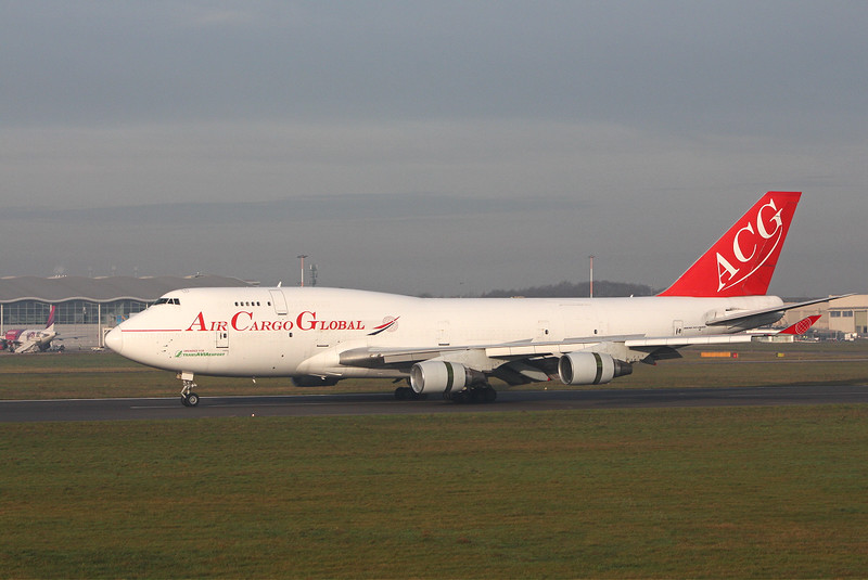 Air Cargo Global 747-400F OM-ACG.<br /> By Clive Featherstone.