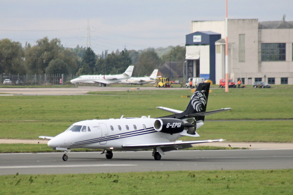 Camco Air, Cessna 560XL Citation XLS+, G-EPGI<br /> By Graham Vlacho.