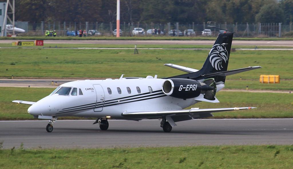 Camco Air, Cessna 560XL Citation XLS+, G-EPGI<br /> By Jim Calow.