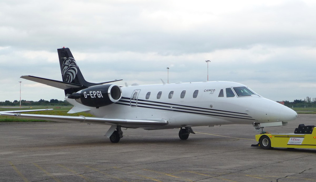 Camco Air, Cessna 560XL Citation XLS+, G-EPGI<br /> By Correne Calow.