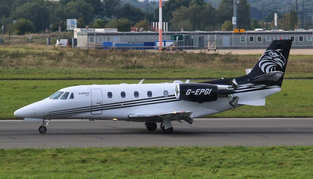 Camco Air, Cessna 560XL Citation XLS+, G-EPGI<br /> By Jim Calow