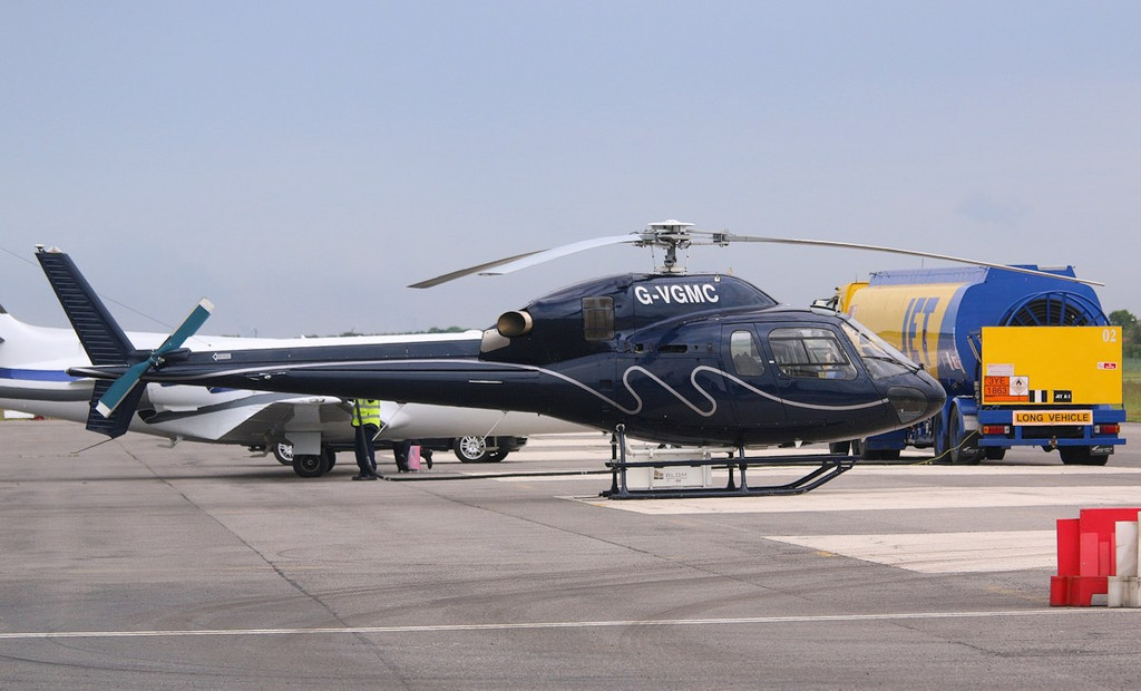 GB Helicopters AS355N Squirrel, G-VGMC.<br /> By Correne Calow.