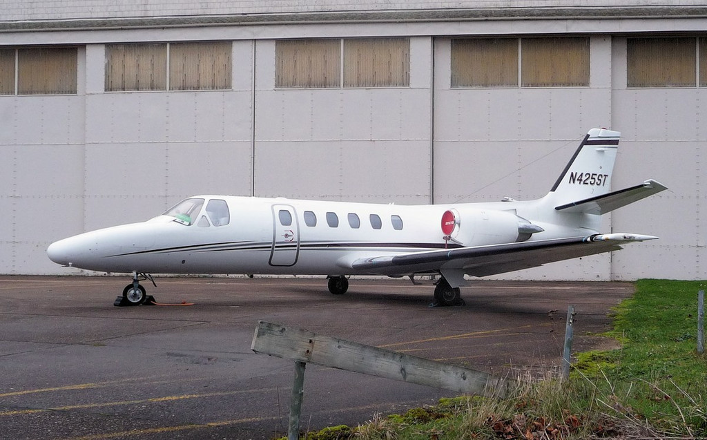 Up for sale................Cessna 550 Citation II, N425ST.<br /> By Correne Calow.
